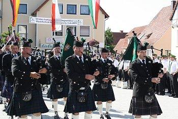 Auch die West Highlanders sorgten für gute Stimmung. Foto: Laame