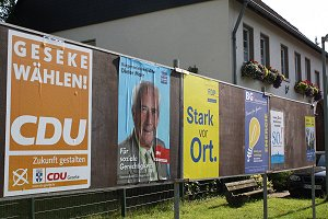 Kommunalwahlkampf geht in die heiße Phase. Foto: Laame
