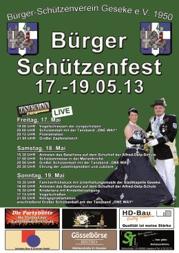 Brgerschtzenfest 2013