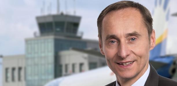 Geschäftsführer Flughafen Paderborn/Lippstadt GmbH: Dr. Marc Cezanne.