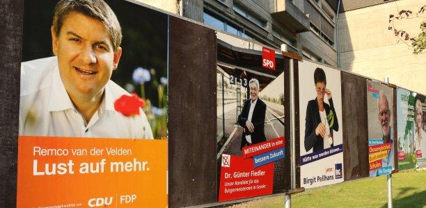 Kommunalwahl 2020. Foto: Laame